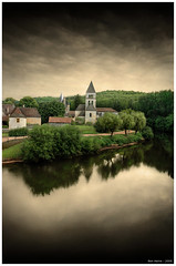 Saint Lon (Ben Heine) Tags: windows wallpaper france brick green art tourism church nature colors sepia architecture angel forest river print poster landscape mirror countryside 3d construction warm heaven oldstyle colours sad geometry stones pierre pray chapel monotone lovers nostalgia triste silence environment block priest meditation prigord murmur copyrights eternity coloured glise gospel chapelle verdure ecosystem enhancement transcendence rflection barrire quiteplace peacefulscenery saintleon benheine francelandscapes southwestoffrance saintlon hubertlebizay hubzay pearlieduncanwalker cilyndre infotheartisterycom thesilenceofthevillage
