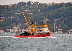 'Agaogullari 5' returning to Istanbul from fishing in the Black Sea, Bsophorus, Turkey, 20 September 2008 (Ivan S. Abrams) Tags: coastguard docks turkey boats nikon mediterranean ataturk ships istanbul getty lighters nikkor shipping tugs straits ports nikondigital blacksea gallipoli ferries harbors watercraft bosphorus tugboats gettyimages vessels freighters tankers harbours cruiseships barges smrgsbord warships destroyers ferryboats navyships speedboats frigates internationaltrade classicboats seaofmarmara navies containerships portcities navalvessels bulkcarriers nikonprofessional chokepoints onlythebestare boatnerd ivansabrams trainplanepro nikond300 shippinglanes internationalshipping sealanes ivanabrams worldwideshipspotters servicecraft gettyimagesandtheflickrcollection feriobots coastalfreighters marinecommerce internationalcommerce maritimecommerce seaportsseaportmaritime crossroadsasiaeuropebosforbogazasia minorboxesintermodal tugobats copyrightivansabramsallrightsreservedunauthorizeduseofthisimageisprohibited tucson3985gmailcom copyrightivansafyanabrams2009allrightsreservedunauthorizeduseprohibitedbylawpropertyofivansafyanabrams unauthorizeduseconstitutestheft thisphotographwasmadebyivansafyanabramswhoretainsallrightstheretoc2009ivansafyanabrams abramsandmcdanielinternationallawandeconomicdiplomacy