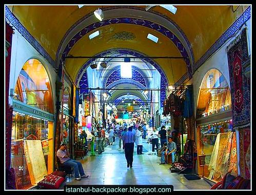 Carpet Shops at Istanbul Grand Bazaar