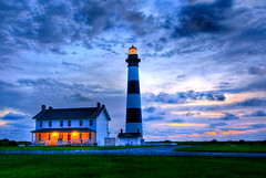 Bodie Island Sunrise (Chuck Robinson) Tags: lighthouse zeiss sunrise sony northcarolina outerbanks hdr obx bodieisland photomatix cz1680mm
