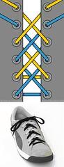двойная шнуровка