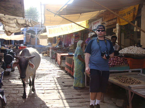 En el mercado de Jodhpur, India