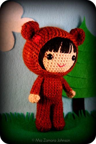 bear costume big girl