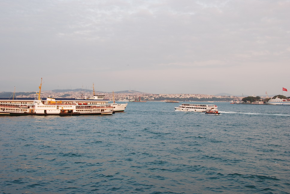The Bosphorus Strait 博斯普魯斯海峽