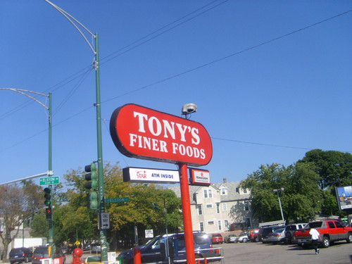 Tony's Finer Foods Supplier of crap