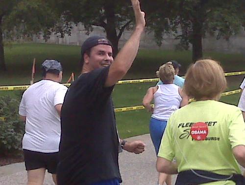 Rick at the Finish