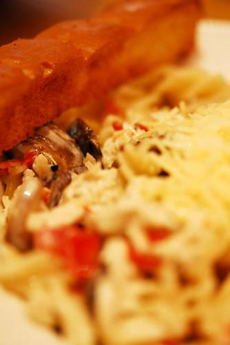 Chicken and Mushroom Fusilli - DSC_0870