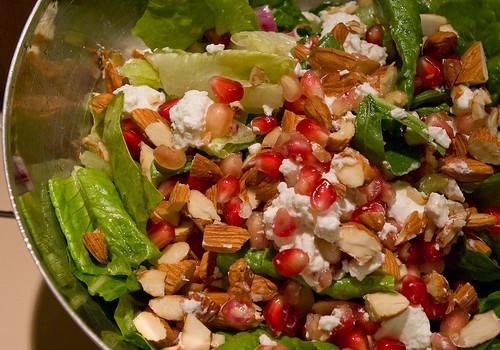 Nutty Pomegranate Salad (2)