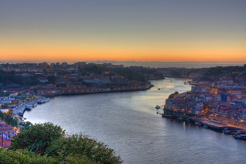 Oporto Sunset HDR