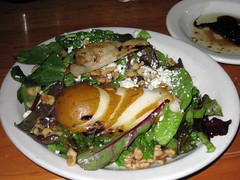 delicious pear salad from 518 in raleigh