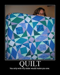 quilty goodness (Pynnski) Tags: motivator quilt