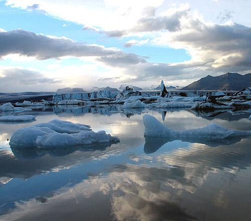 Iceland 2007 glacier lagoon Jökulsárlón by o palsson.