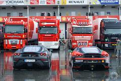 Ferrari Racing Days (Martijn Kapper) Tags: sony ferrari monaco exotic alpha martijn challenge a100 exotics 430 nrburgring kapper nrburg carspotting paddack autospotten