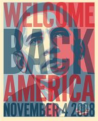 wecome back america