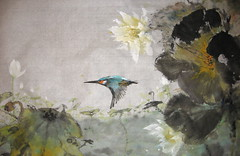 Kngfshr nd Lts (boydsshufa) Tags: ink watercolor lingnan traditionalchinesepainting xieyi chinesebrushpainting spontaneousstyle