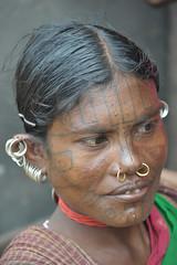 Kuthia Kondh lady (World_Discoverer) Tags: india tribal orissa bonda gadaba kondh lanjisaora