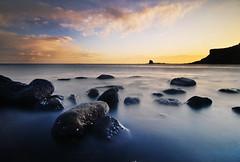 Black Nab from Saltwick Bay, North Yorkshire (Corica) Tags: longexposure sea shells water sunrise landscape nikon rocks yorkshire cliffs tokina northsea northyorkshire limpets d300 saltwickbay corica blacknab nikond300 tokina1116