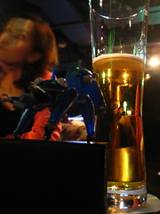 Tachikoma and beer