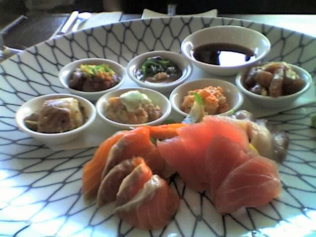 cold tasting plate