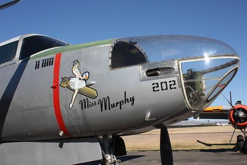 """Warbird picture - B-26 Marauder - """"Miss Murphy"""""""