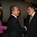 Arribo del Presidente Calderón al Aeropuerto Internacional Comodoro Arturo Merino Benitez de Santiago Chile (20-11-2008)