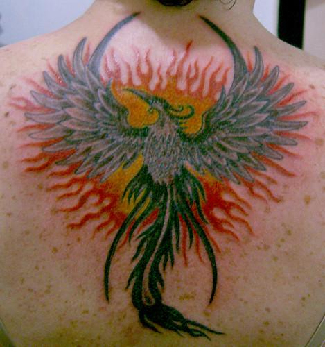 tatuagem fenix tattoo
