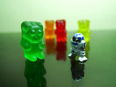 Take Me To Your Leader (Daniel Y. Go) Tags: macro lumix dof philippines panasonic gummybears candies lx3 wowiekazowie lumixlx3 gettyimagesphilippinesq1