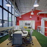 Artificial Grass in Google Office - America