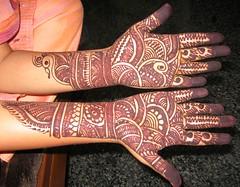 Mehndi on hands (~~~~Karthik.S~~~~) Tags: india art bangalore karnataka mehndi oléquebonito