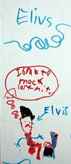 kids write the funniest things... (pjayres) Tags: white kids death board elvis toilet marker spelling died binge erasable