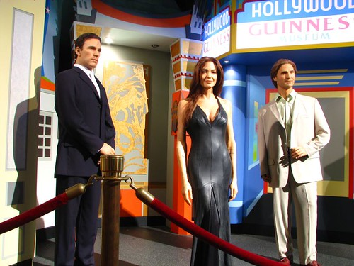 Hollywood wax muesuem Angelina Jolie
