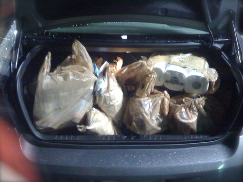 Chevy Impala Has Lots of Trunk Room for Groceries and Luggage