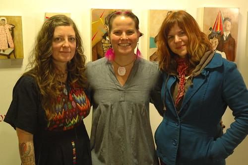 Faythe Levine, Lisa Congdon, Kim Kisiolek