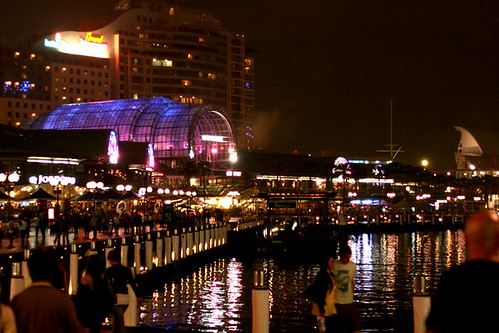 Harbourside at night by you.
