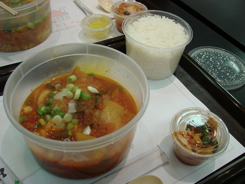 Bucket of Kimchi Stew!