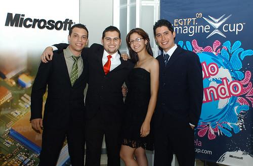 Equipo Ganador Imagine Cup 2009 Venezuela