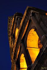 Il cuore pulsante di Roma non  certo il marmo del Senato, ma la sabbia del Colosseo (Arsumigli aka Papi) Tags: italy rome roma monument lights nikon italia monumento bynight tito luci lazio colosseo notturno archi vespasiano d90 anfiteatroflavio gladiatori amphitheatrum nikonclub nikkor3570mm13345 arsumigliakapapi