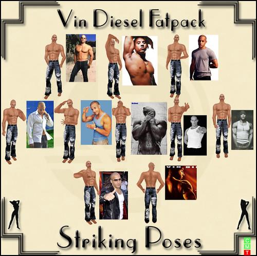 Vin Diesel Fatpack