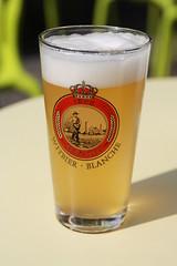 Witbier Haacht (Tetramesh) Tags: beer belgium belgique belgie belgi alcohol booze bier ghent gent gand flanders belgianbeer belgien belgio blgica gwladbelg vlaanderen oostvlaanderen belgia blgica eastflanders belga belika belgicko beija belgija belgjik belju blxica anbheilg tetramesh birebelge pensmarkt belgischbier b  witbierhaacht   brouwerijhaacht hetspijker haachtbrewery geo:lon=3721264 haachtwhite abv51 geo:lat=51055743 ubelgiji