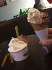 Waffle cone and triple