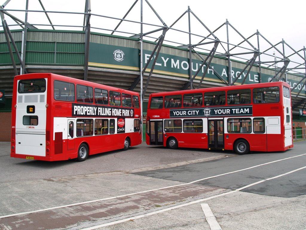 Plymouth Citybus 413 PL51LGJ