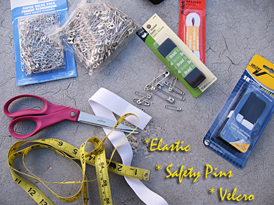 Safety Pin Belt DIY - 1