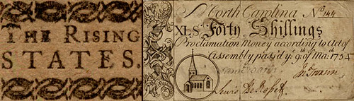 North Carolina colonial currency