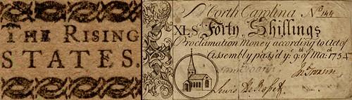 North Carolina colonial currency