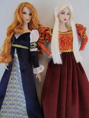 Royal Twins (pigglys_playground) Tags: eden lilith dollsoftheworld integritytoys stylemantraeden greatpretenderlilith