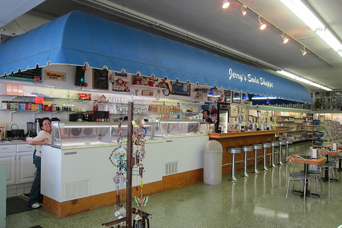 Jerry's Soda Shoppe: Interior