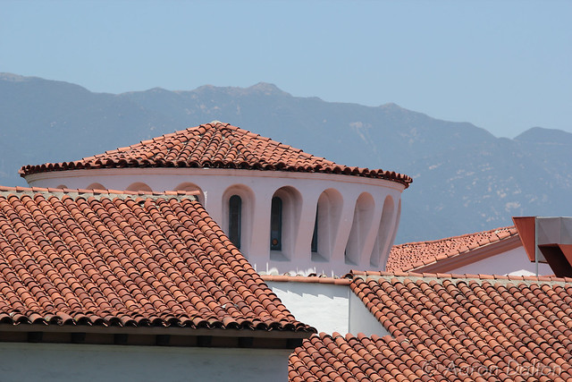 Santa Barbra Courthouse Roofs