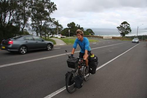 Uphill in Gerroa, NSW.