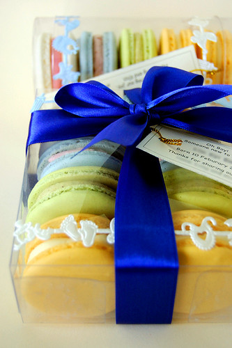 Macarons for a Baby Boy