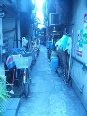 路地裏/Back of alley/골목 안